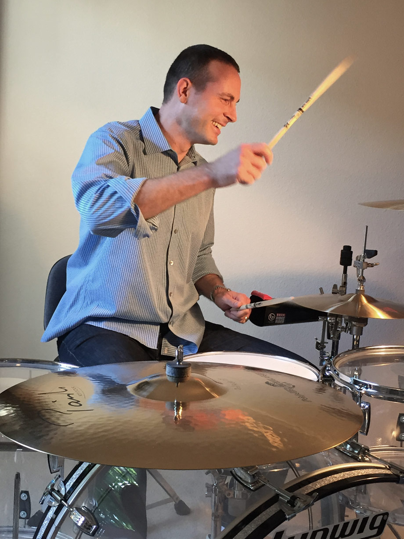 San Ramon Dentist on Drums
